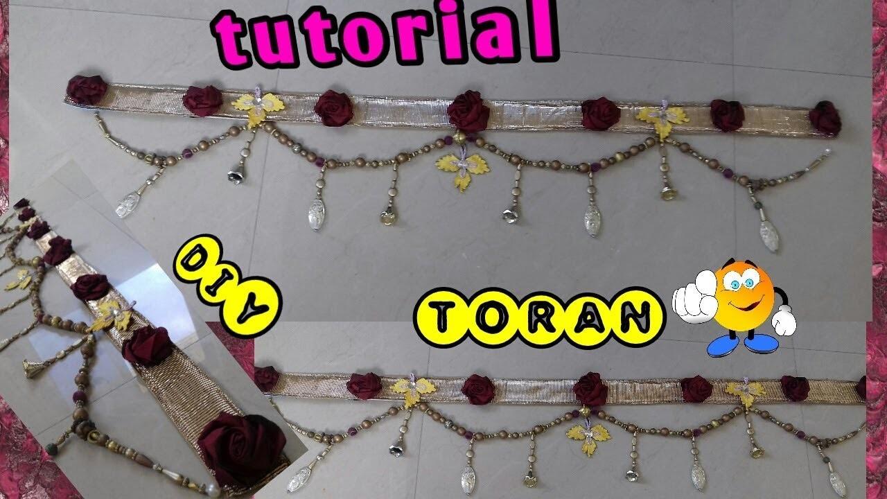 Toran making idea #Handmade door hangings #door hangers #hindu door decoration #door hanging online & Toran making idea #Handmade door hangings #door hangers #hindu door ...