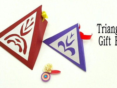 Triangle Gift Box - Easy - DIY Tutorial by Paper Folds - 785