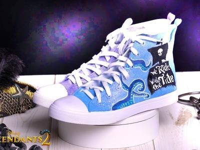 VK Shoes Tutorial: Mal & Uma ????  | DIY | Descendants 2