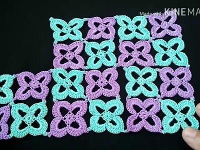 122-Crochet design#Lesson-12, crochet runner (Hindi.Urdu)