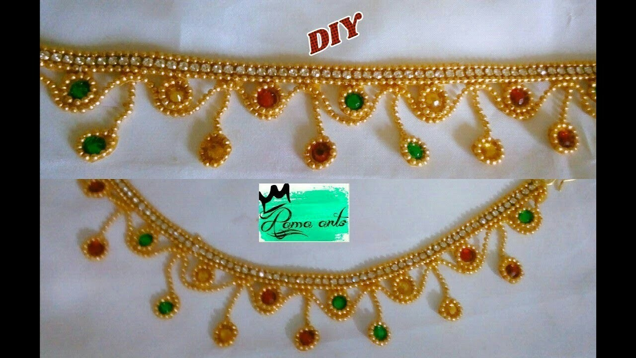 Anklets - How to make this Anklets | jewellery tutorials