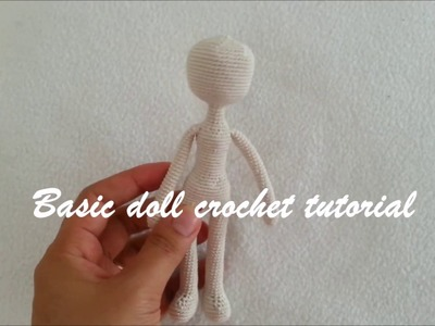 Basic doll body crochet
