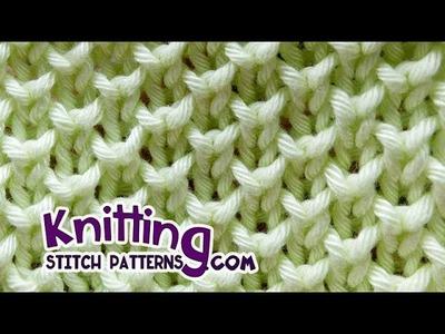 Bee stitch* - Looks like Pearl Brioche Knitting