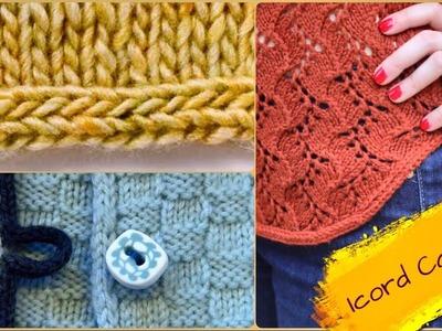 Border knitting Design #01#(Hindi) (icord casting)