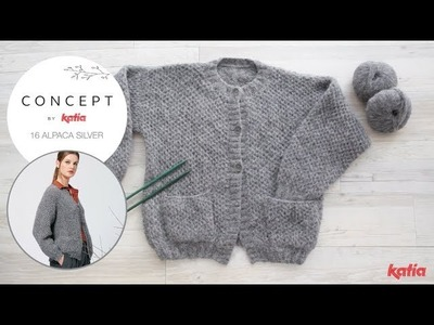 Cardigan Project: How to Knit Intercalated Honeycomb Stitch