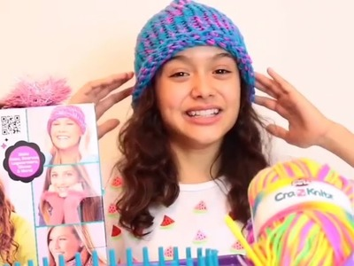 Character Cool | Shimmer And Sparkle | Cra Z Knitz | Unboxing With Ambi C | How To Make A Beanie Hat
