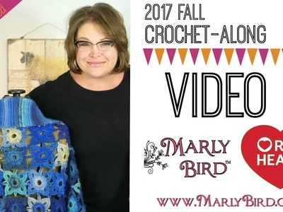 Crochet Along Video 2 Motif and Join as You Go (For Left Handed)