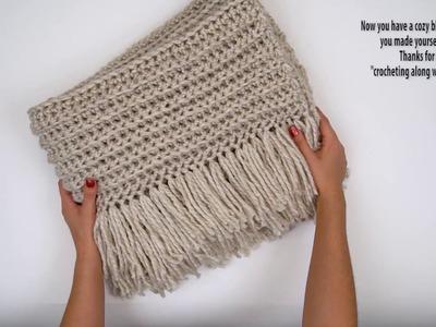 """Crochet Along With Me"" Blanket Tutorial Pattern by BrennaAnnHandmade"