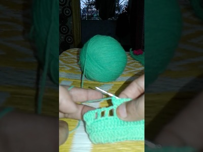 Crochet  Broder   design # 1  ! omi khatoon!