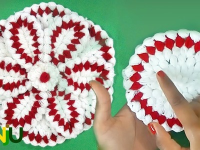 Crochet | Crosia | Krosha Thali posh with 6 pattern