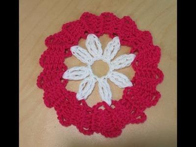 Crochet Motivo En Encaje De Brujas