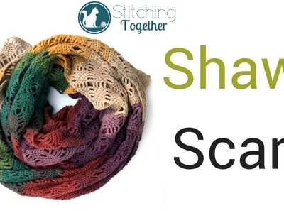 Crochet Shawl | Crochet Scarf Pattern
