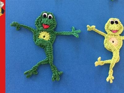 Dancing Frog Crochet Pattern Tutorial