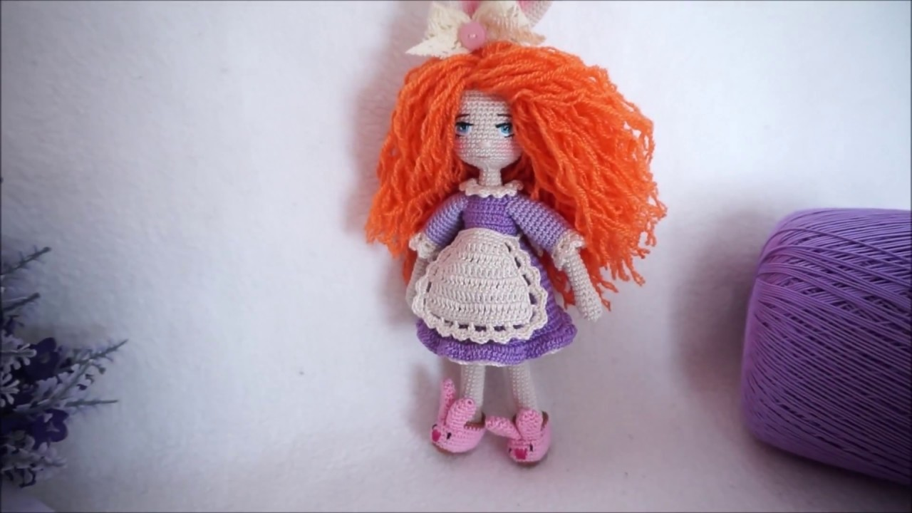 Doll outfit. Basic doll dress crochet