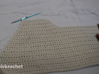 Easy Beginner Crochet Top Tutorial