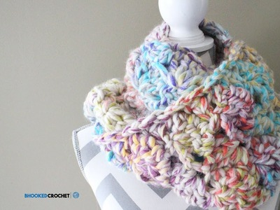 Easy Crochet Scarf - Snuggle Up Scarf Pattern by Red Heart