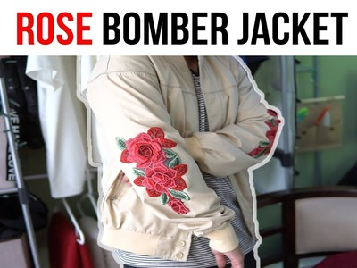 How to add embroidery patches to your jacket (New Method 2017)