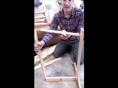 How to assemble an Ashford Knitters Loom Stand