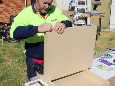How To Build A Model Train Box