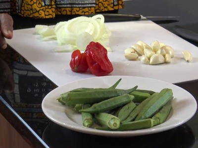 HOW TO COOK OKRO SOUP