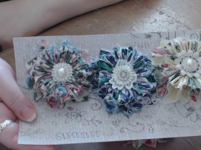 "How to Create A Shabby Chic ""Petal Burst"" Flower Tutorial"