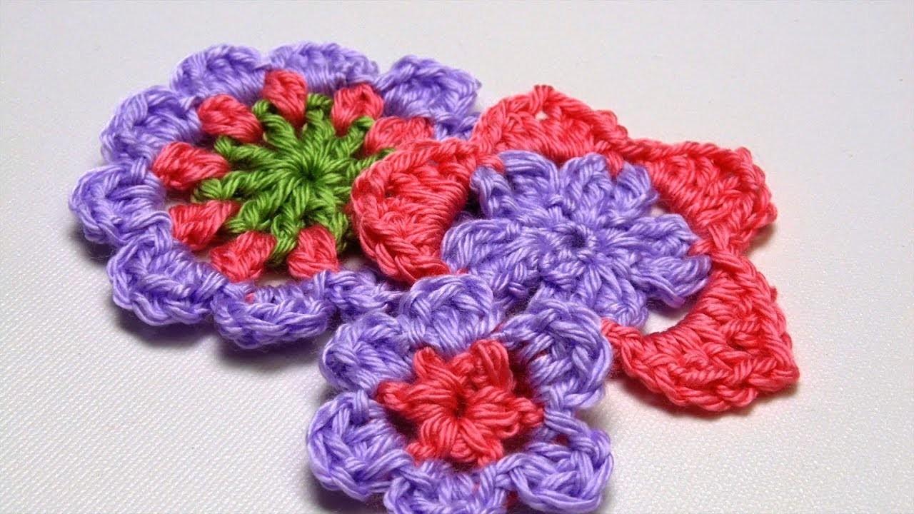 How to Crochet a Flower: 3 Ways
