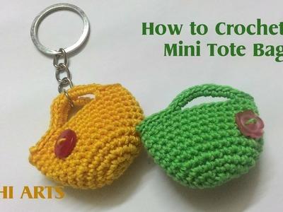 How to Crochet a miniature Bag. Purse