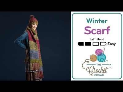 How to Crochet A Scarf: Artsy Puff Stitch Scarf