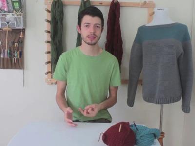 How to Crochet a Top Down Raglan Sweater: Choosing Yarn