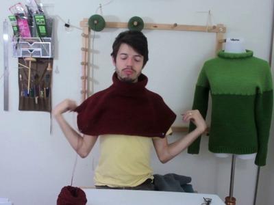 How to Crochet a Top Down Raglan Sweater: Part 6