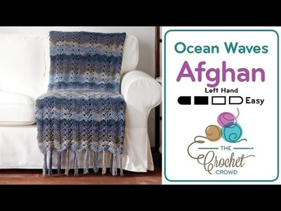 How to Crochet A Wave Afghan: Classic