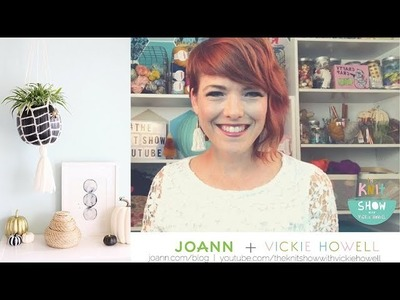 How to Crochet a Webbed Pumpkin Planter: The Knit Show for JOANN