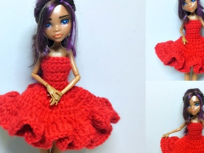 How To Crochet Doll Prom Dress