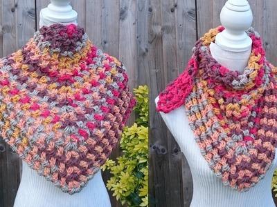 How to Crochet my Puff Stitch Shawl