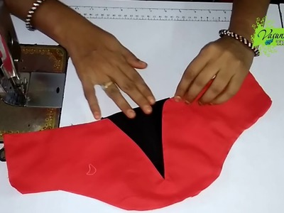 How To Cut and Stitch Sleeves for Bridal Blouse    How to Cut and Sew Designer Sleeves for Blouse