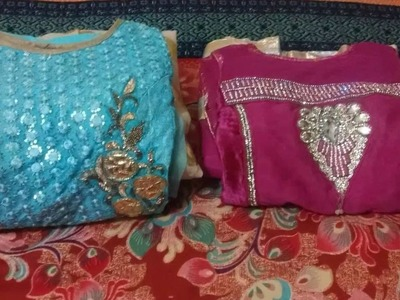 How to Fold Anarkali Suit. Konmarie Method of Organizing Anarkali Suit.How to Fold Clothes in HIndi