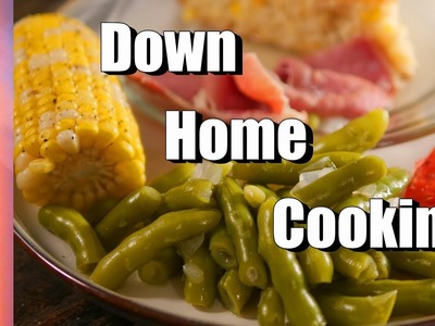 How to Harvest, Trim, and Cook Greasy Beans - A Down Home Southern Style Meal