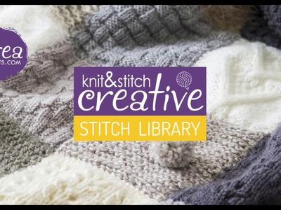 How to knit: 3x1 Rib Stitch by CREACRAFTS