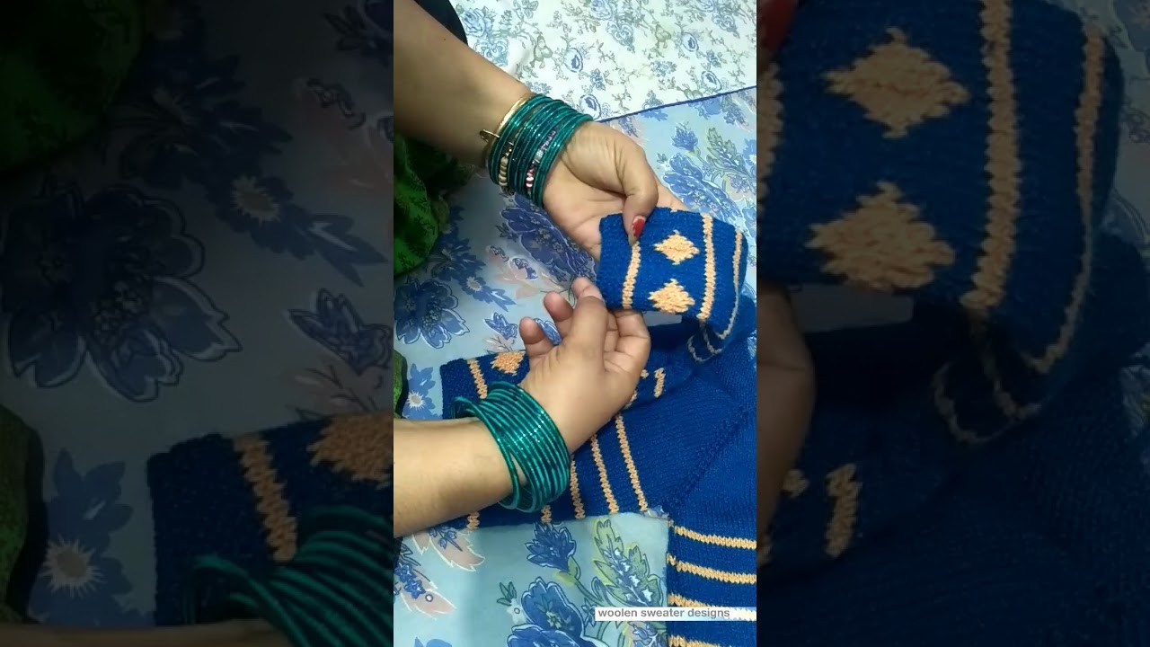 How to knit | new sweater design for kids or baby in hindi , woolen sweater making , part 1