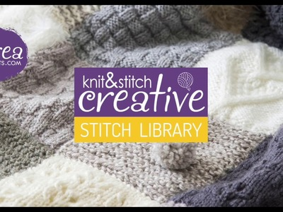 How to knit: Reverse Stocking Stitch by CREACRAFTS
