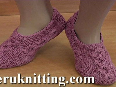 How to Knit Socks With Cables Tutorial 201 Knitting Honeycomb Stitch Pattern