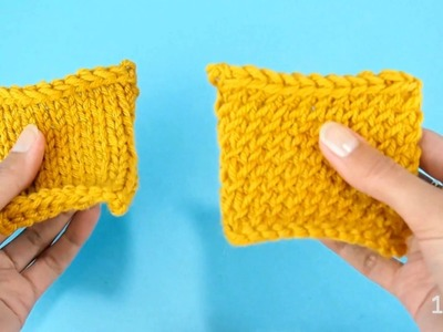 How to knit stockinette stitch that doesn't curl