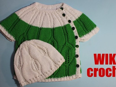 How to knitting baby sweater for beginners 1.2 part KNITTING TUTORIAL Very easy knitting