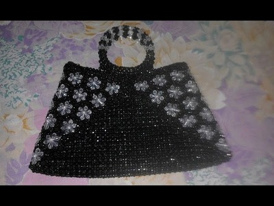 How to make a beaded bag part - 1