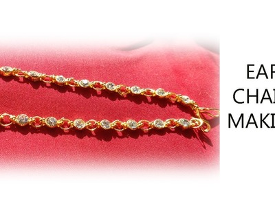 HOW TO MAKE A MATTI.EAR CHAIN MAKING AT HOME K Creations - 49