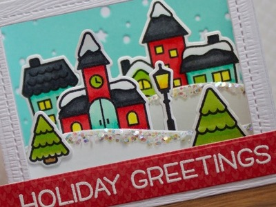 How to make a shadow box card