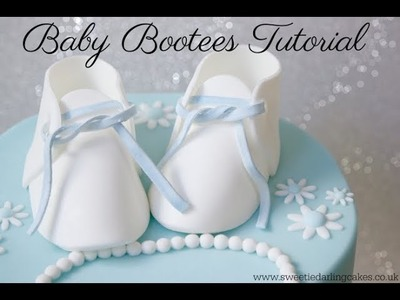 How to make Baby Bootees