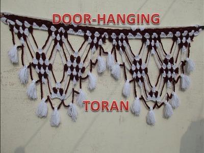 How to make crochet Toran.Door hanging.[Hindi]