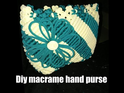 How to make macrame purse # design5 ( part2)