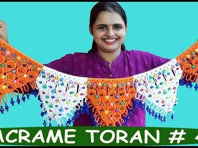 How to Make Macrame Toran # 4